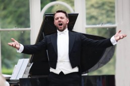 Rory Musgrave, Baritone – VDISC Killruddery Concert – Photo credit Frances Marshall